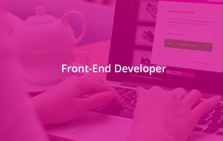 Palvelukseen halutaan kokenut Front-End Developer
