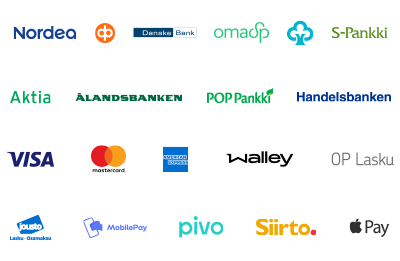 Maksutavat logot