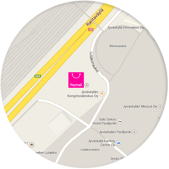 Paytrail on map