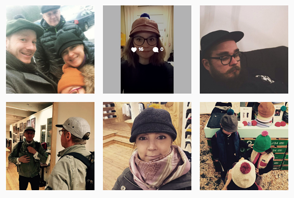 Coston inspiroivaa sisältöä instagramissa.