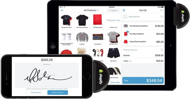 Shopify webstore builder