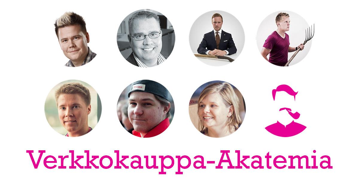 Trimmaa verkkokauppasi huippukuntoon - osallistu Verkkokauppa-Akatemian webinaareihin