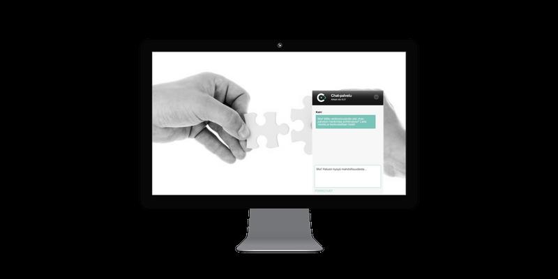 Chat-palvelun käyttöönotto verkkokaupassa