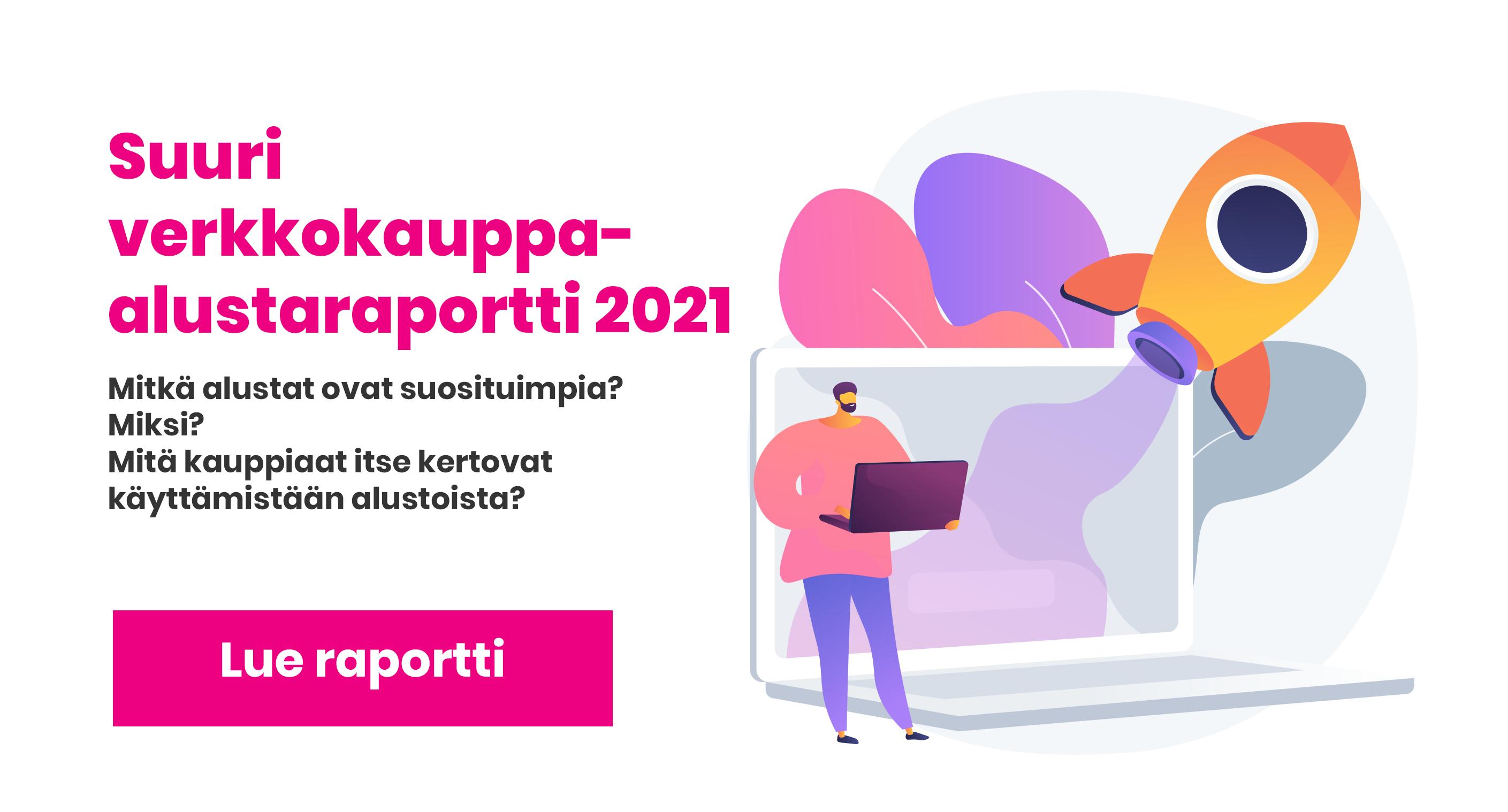 Nämä ovat Suomen suosituimmat verkkokauppa-alustat 2021